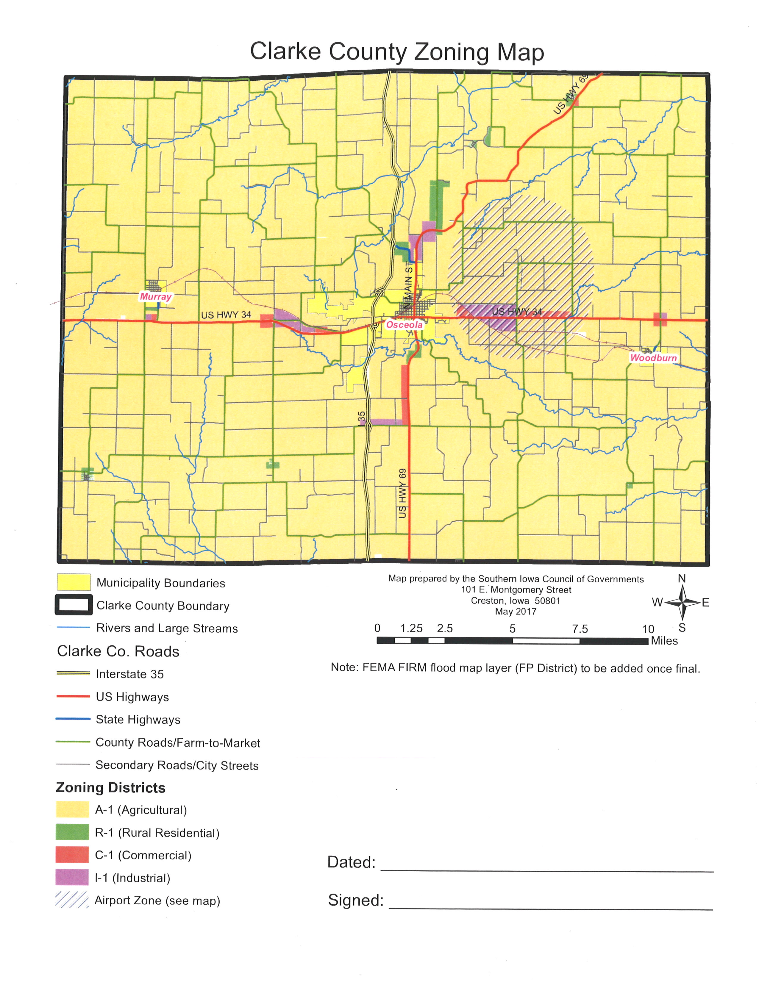 Map Clark County Map on